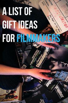 Gift ideas for film students filmmaker Beau Film, Film Tips, Digital Film, Film Studies, Film School, Music Film, Video Film, Film Director, Film Industry