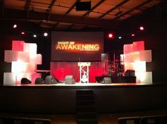 Valley Church - Set Design by Ryan Magada, via Behance