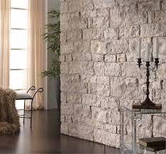 Resultado de imagen para salas decoradas con piedras