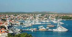 Kroatië vakantie: Vodice een kleine stad aan de kust van Dalmatië