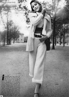 Vogue Italia, 1971 Photo by Arnaud De Rosnay