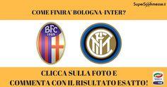 [INDOVINA IL RISULTATO] Torna subito la Serie A TIM con l'anticipo Bologna-Inter! COMMENTA con il tuo pronostico sul risultato esatto della gara ;-) #seriea #serieatim #bologna #fcinter #superscommesse
