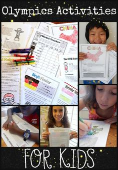 Summer Rio Olympics Activities Packet for Kids- Kid World Citizen Olympic Countries, Olympics Facts, Student Centered Learning, Geography For Kids, Summer Games, Work Activities, Preschool Themes, Reading Passages, Kids Reading
