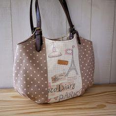 artchala handmade: Paris Granny Bag