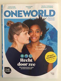 OneWorld magazine nr 5, 2016- Photography Anne Reinke- Picture editor Anja Koelstra #OneWorld #cover #zee Zee One, Picture Editor, My Portfolio, First World, Art Pieces, Magazine, Pictures, Photography, Photos