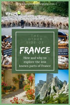 Paris is the most visited city in France, in fact it is the most visited city in the world. But there is a lot more to France than Paris. And getting outside of the city gives you a far more authentic experience. This is the best way to see the real France.  [ France Tourism | Alternate Destinations in France | Off the Beaten Path in France | France Off Season | Hidden Gems in France | France Without the Crowds | Escape the Crowds in France ] Europe Destinations, Europe Travel Guide, France Travel, Amazing Destinations, Travel Guides, Best Places To Travel, Places To Go, Responsible Travel, Visit France