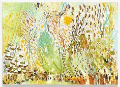 Borner Garten II2015, Öl auf Holz, 100 x 140 cm