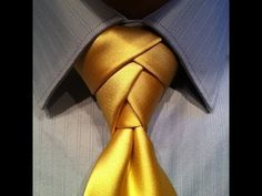 It took me a couple of tries but I'll be using this knot the next time I wear a tie!