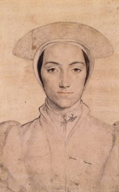 An unidentified woman, Hans Holbein the Younger, c. 1532-43 | Royal Collection Trust