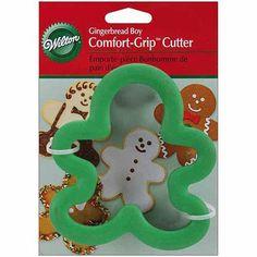 "Wilton Comfort-Grip Cookie Cutter, 4"""