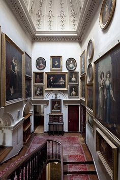 "Gallery walls - From ""The Scottish Country House"" by James Knox. Image source: Things That Inspire. Gallery walls - From ""The Scottish Country House"" by James Knox. Image source: Things That Inspire. Beautiful Interiors, Beautiful Homes, Beautiful Life, Interior And Exterior, Interior Design, Home Improvement Projects, Old Houses, Sweet Home, House Design"