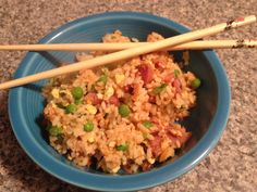 This fried rice recipe has been in my family for many years. My mother got it from her mother, and I have no idea where my grandmother first got this recipe. My grandmother made this rice with crispy bacon pieces, but you can use any salty protein, protein replacement or …Share