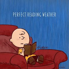 A good day to stay inside 📚 I Love Books, Good Books, Books To Read, My Books, Peanuts Cartoon, Peanuts Gang, Snoopy Cartoon, Snoopy Quotes, Charlie Brown And Snoopy