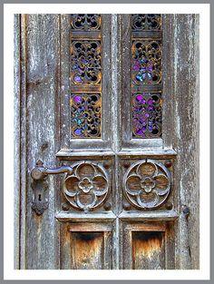 Vintage Style Wrought Iron Door Handles 153