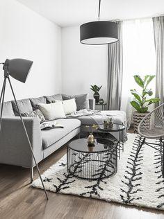 Spot On! Was Hinter Stylischen Wohnkonzepten Steckt? Die Stilsichere  Kombination Von Farbe Und Material