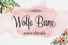 Wolfsbane  by Groens on @creativemarket