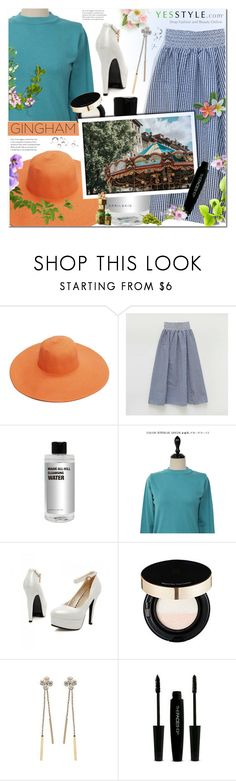 """""""yesstyle"""" by megx12 ❤ liked on Polyvore featuring chuu, JY Shoes and The Face Shop"""