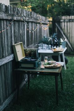 lean + meadow: summer picnic party