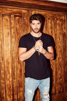 Nick Bateman Talks Being the New Face of GlamGlow and More: We had him walk us through his entire low-maintenance routine and show us some bow staff for good measure (wink.) More abs below. | coveteur.com