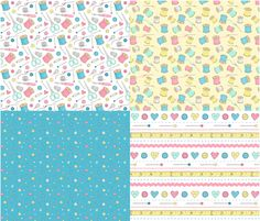 Sewing Notions fabric by hazel_fisher_creations on Spoonflower - custom fabric