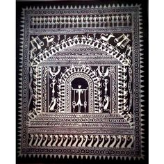 Traditional Tribal Painting