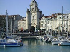 La Rochelle France - where my ancestors sailed from - Marie Valade, a Fille du Roi, et Jean Cadieux
