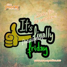 #Viernes Y ya la tarde!  Finalmente llegó ese momento tan esperado durante toda la semana.  ¡Buen #Finde! ]more[ relax y diversión ㋡