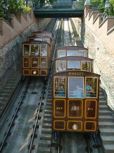 Castle Funicular - Budapest, Hungary