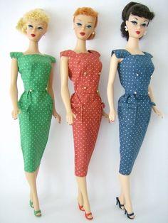 Polka dot sheath pack! 1962-63