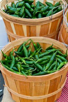 Green chillies