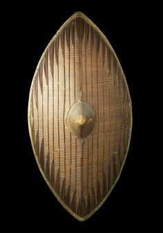 34 FH - Ganda 82 x 45 cm. - African shields - African Weapons