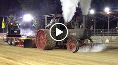 Ultimate Torque Machine 110HP Case Steam Tractor Makes it Rain FIRESure, this tractor might not make the most horsepower in the world, but we would imagine that its ability to chug along in this tractor pull means it makes some serious torque.The machine might boast some impressive pulling p