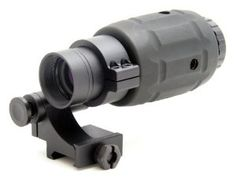 TMS Tactical 3x Magnifier Scope with Quick Flip to Side Mount for Red Dot Sight by Tms. $98.00. Fully coated lens for better performance. Instantly converts a CQB red dot sight into a 3x long range sniping scope. 30mm mounting tube. Adjustable windage and elevation to center red dot without changing Zero. 90degree FTS quick flip to side mount included. A great add-on to tactical red dot sights. It converts the sights instantly into a sighting system for longer range tar...