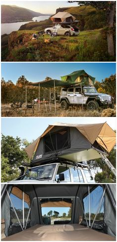 The Front Runner Feather-Lite rooftop tent is safer, drier, faster and…