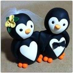 Penguin love Wedding Cake Topper Etsy Penguin Cake Toppers, Penguin Cakes, Sister Wedding, Our Wedding, Dream Wedding, Wedding Ideas, Wedding Cake Toppers, Wedding Cakes, Penguin Wedding