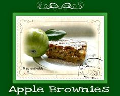 'Apple Brownies'