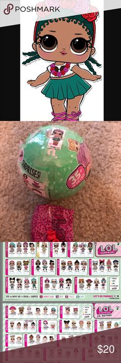 LOL Surprise Doll Coconut QT LOL Surprise Doll  New in ball- Coconut QT Made small cut where shoes are to verify doll and tape shut. Top toy item this Christmas 🎄 🎄🎄!!!! My daughter l❤️ves these! I have several others and pets if you want more! Please ask😊. Smoke free home.  Thank you for looking! Happy Holidays! Other