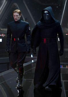 General Hux and Kylo Ren