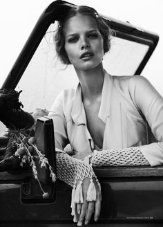 Wanderlust: Marloes Horst by Will Davidson for Harper's Bazaar Australia March 2012