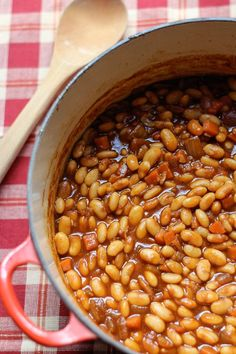 A Side Dish Recipe for Burgers: Slow-Cooked Cider Beans