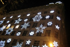 NYC - Sak's 5th Avenue Holiday Light Show by wallyg, via Flickr