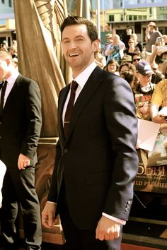 Richard Armitage at the New Zealand premiere of The Hobbit: An Unexpected Journey November 28 2012