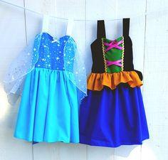 Items similar to Frozen Inspired Princess Anna - Anna Dress on Etsy Anna Tutu Dress, I Dress, Kate Dress, Girls Dresses, Flower Girl Dresses, Summer Dresses, Princess Aprons, Princess Dresses, Frozen Dress