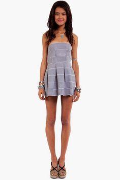 TOBI Bandage Skater Dress