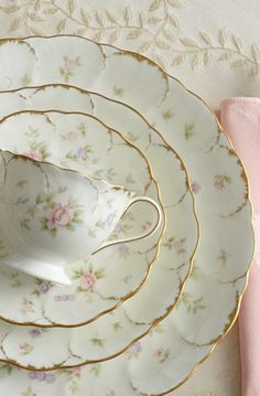 Mikasa Dinnerware and Endearment Dinnerware Sets are at the Official Mikasa webstore. Shop for crystal, dinnerware, picture frames and wedding gifts. Antique Dishes, Vintage Dishes, Antique China, Vintage China, Vintage Tea, Mikasa Dinnerware, Dinnerware Sets, China Dinnerware, Tea Cup Saucer