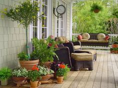 Country Front-Porch Decorating Ideas | Front porch ideas from rate my space home improvement diy network