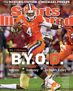 Clemson on Sports Illustrated  Go Tigers!!!