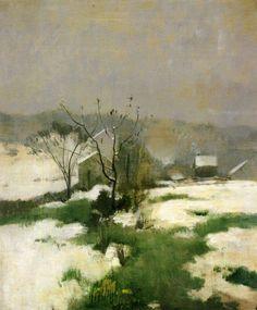 John Henry Twachtman, An Early Winter, c.1882
