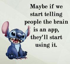 I love the stitch memes♡♡♡ stich quotes, stitch pictures, minions quotes Minion Humour, Funny Minion Memes, Crazy Funny Memes, Really Funny Memes, Minions Quotes, Stupid People Memes, Cat Jokes, Funny School Jokes, Funny True Quotes