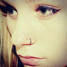Piercing de nariz doble